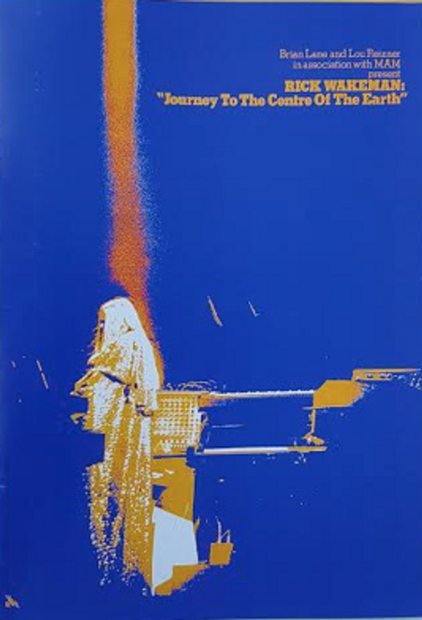 Repro 1974 Journey Programme - Rick Wakeman Emporium