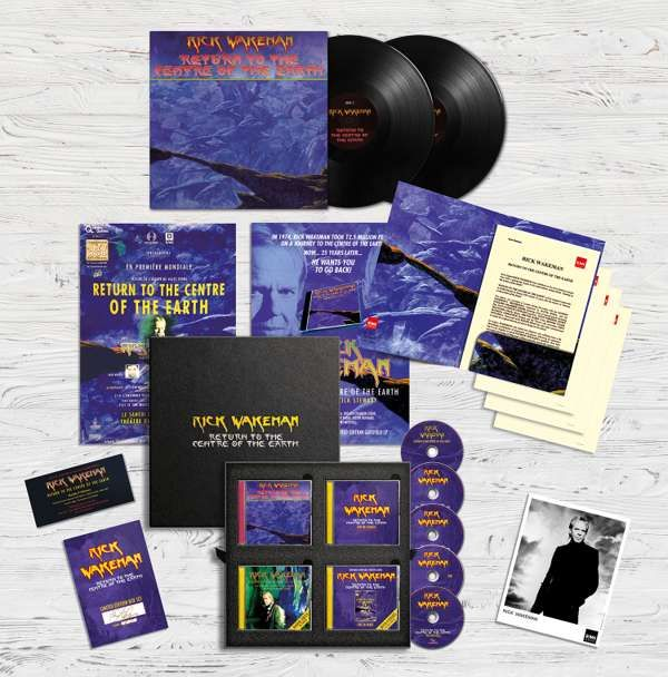 Return To The Centre Of The Earth Super Deluxe Box Set - Rick Wakeman Emporium