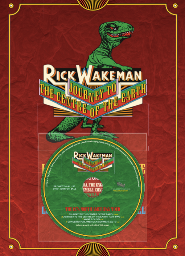 RFH Programme with Covermount CD - Rick Wakeman Emporium