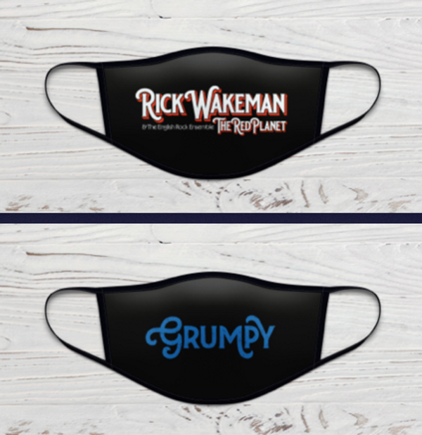 Rick Wakeman Face Masks - The Red Planet & Grumpy - Rick Wakeman Emporium