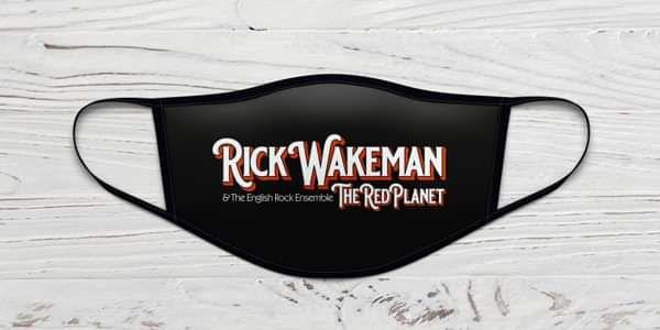 Rick Wakeman The Red Planet Face Mask - Rick Wakeman Emporium