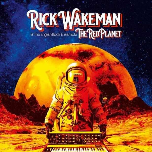 RICK WAKEMAN - THE RED PLANET **SIGNED** Vinyl (2nd ed) - Rick Wakeman Emporium