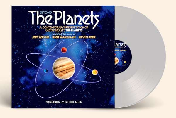 Signed and hand numbered Beyond The Planets Clear Vinyl - Rick Wakeman Emporium