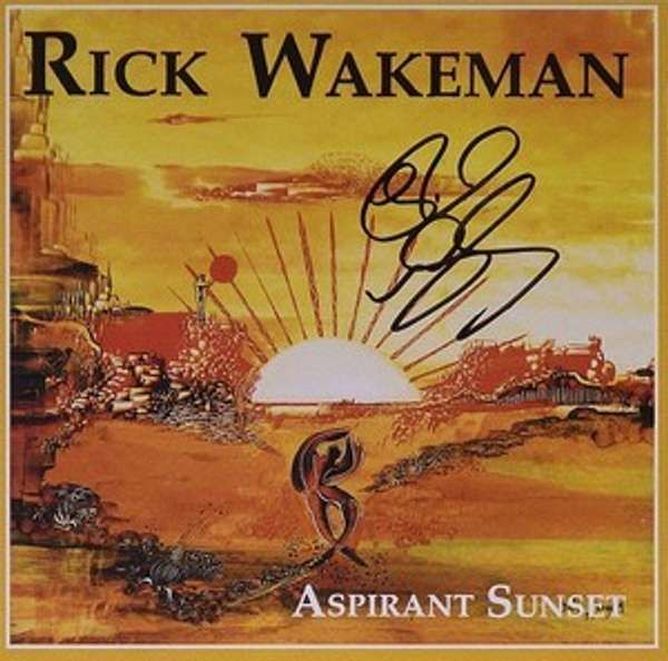 Signed Aspirant Sunset CD - Rick Wakeman Emporium
