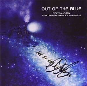 Signed Out Of The Blue CD - Rick Wakeman Emporium