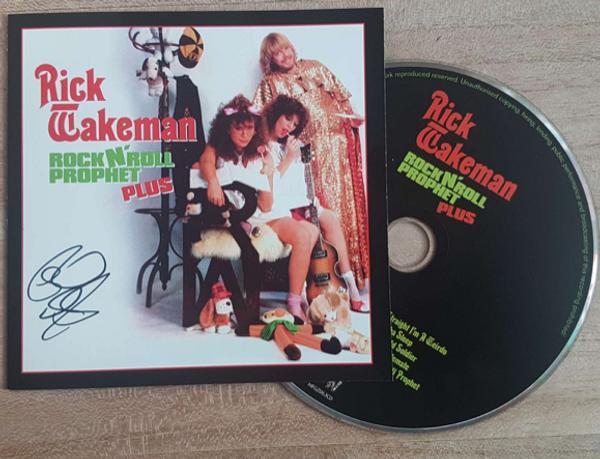 "Signed Rick Wakeman ""Rock 'n' Roll Prophet"" - Rick Wakeman Emporium"