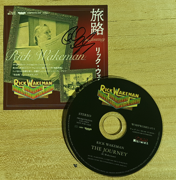 "Signed Special 3"" mini CD, Signed, Japanese Promo CD single - Rick Wakeman Emporium"