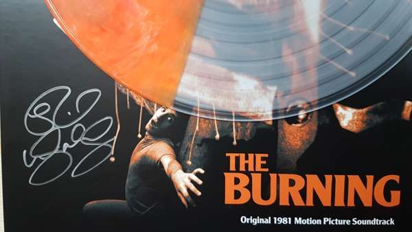 Signed The Burning Numbered LP - Rick Wakeman Emporium
