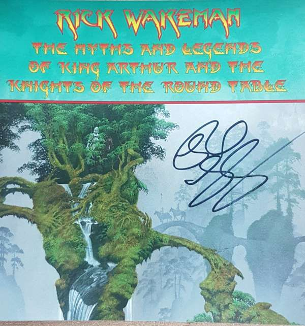 SIGNED The Myths & Legends Of King Arthur & The Knights of the Round Table 2016 Expanded 2CD - Rick Wakeman Emporium