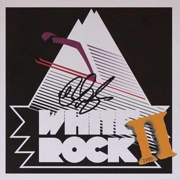 Signed White Rock II CD - Rick Wakeman Emporium