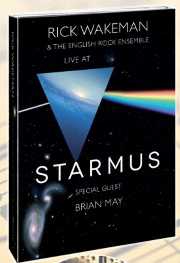 Starmus - featuring Brian May DVD - Rick Wakeman Emporium