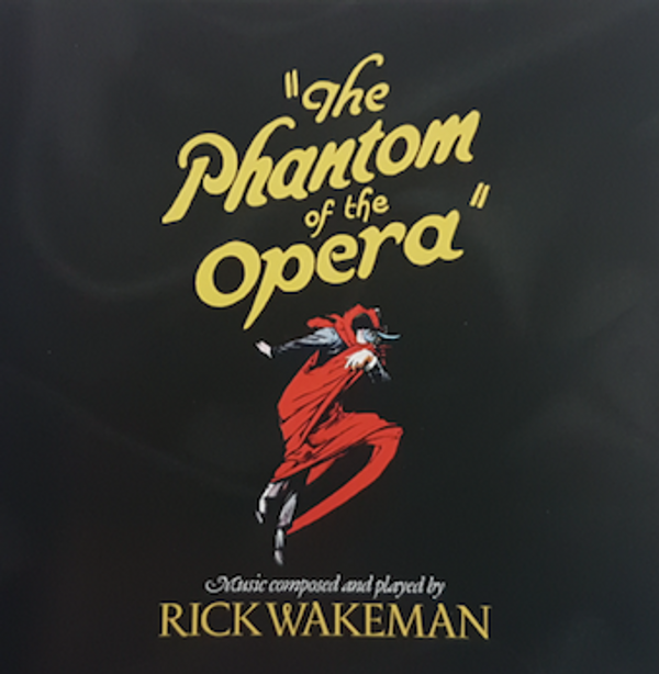The Phantom Of The Opera Double CD/DVD - signed by Rick - Rick Wakeman Emporium