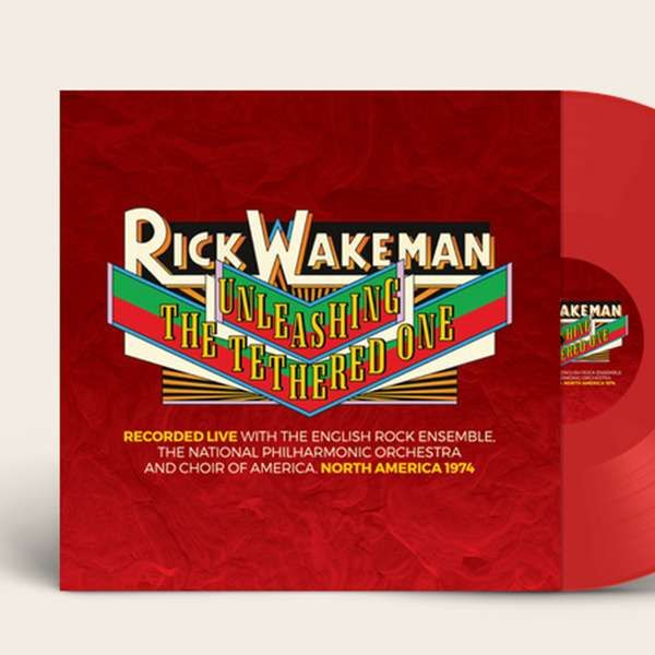 Unleashing the Tethered One Limited Edition Red Vinyl. Signed and Numbered - Signed by Rick - Rick Wakeman Emporium