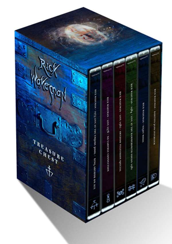 Video Vault - 6 DVD Box Set - Rick Wakeman Emporium