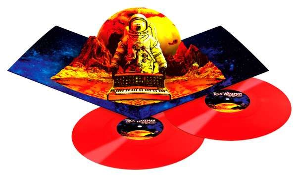 Ltd Edition 180 gram, double coloured red vinyl, in deluxe pop packaging. UNSIGNED - Rick Wakeman: The Red Planet