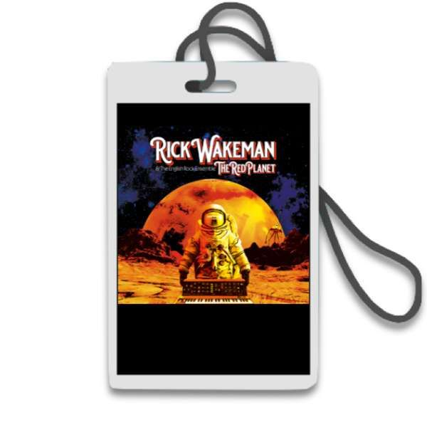 *Admiral* Associate Producer Credit, plus Merchandise & Signed Vinyl & CD/DVD - Rick Wakeman: The Red Planet
