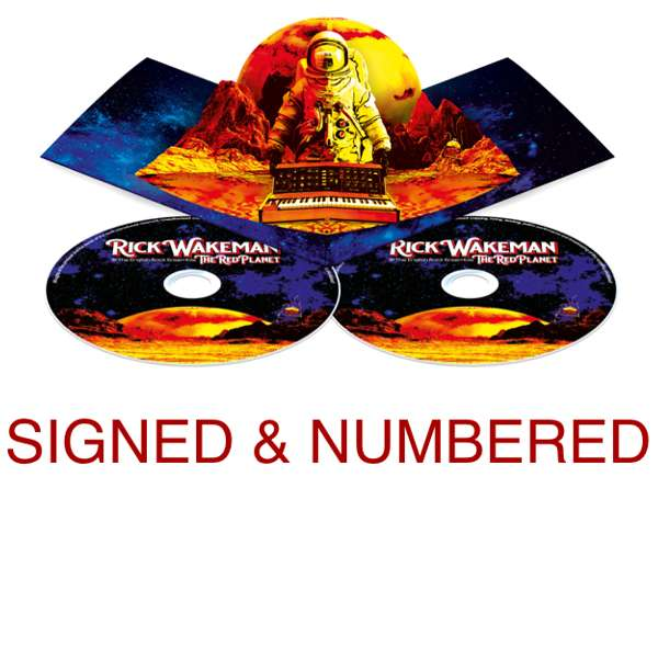 *Cadet* The Red Planet Signed & Numbered CD w/bonus DVD in Deluxe Packaging - Rick Wakeman: The Red Planet