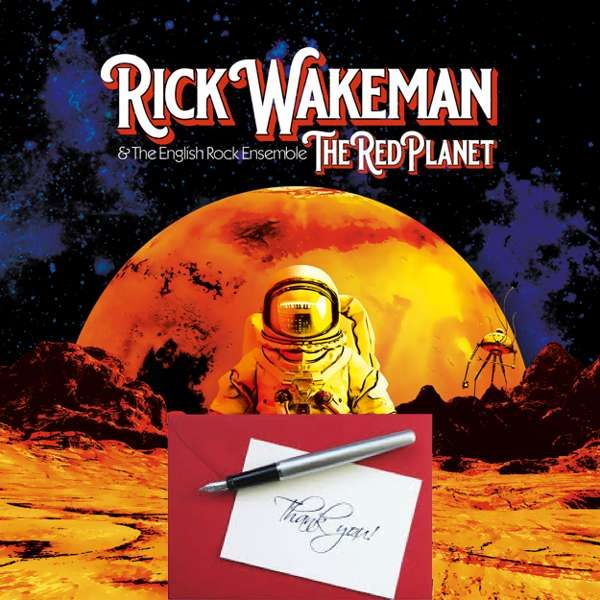*Captain 2* Your Name in the LP Credits, includes Signed & Numbered 2LP & Digital Download - Rick Wakeman: The Red Planet