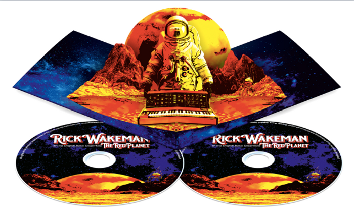 *Science Officer * The Red Planet CD & DVD in Deluxe limited edition Pop Up Packaging - Rick Wakeman: The Red Planet