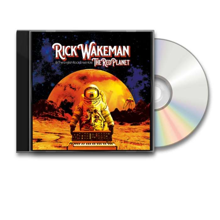The Red Planet CD - Jewel case - Rick Wakeman: The Red Planet