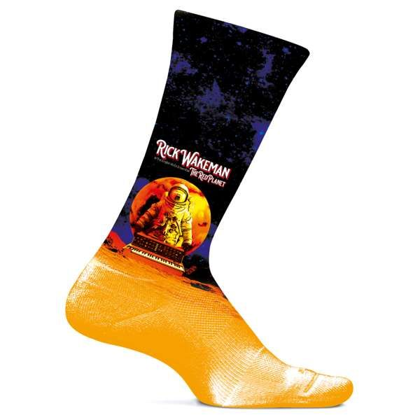 The Red Planet Limited Edition Socks - Rick Wakeman: The Red Planet