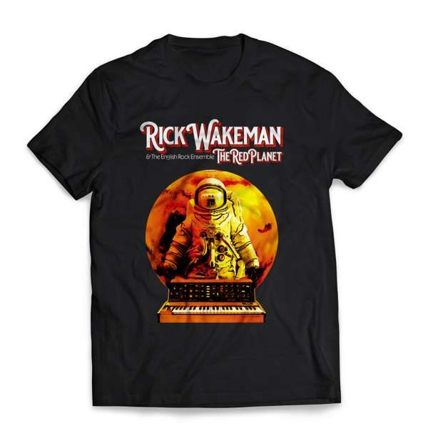 The Red Planet T Shirt - Rick Wakeman: The Red Planet