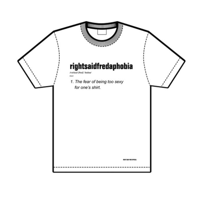 Rightsaidfredaphobia (T-Shirt) - Right Said Fred