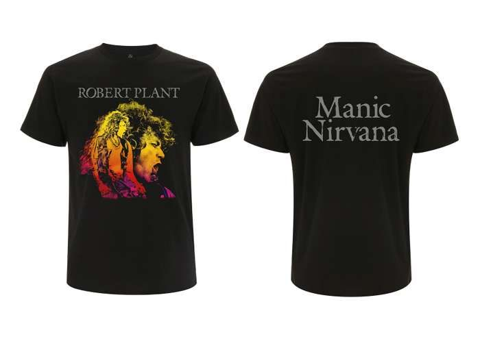 Manic Nirvana - Black Tee - Robert Plant
