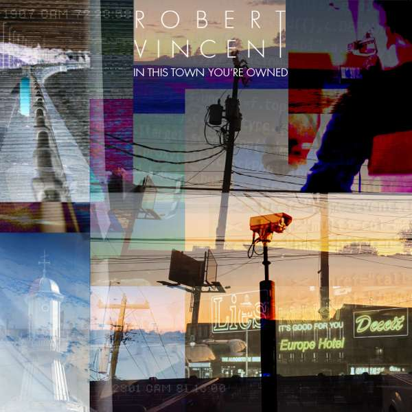 "Red Vinyl, This Town Handwritten Lyrics, ITTYO T-shirt & ""This Town"" Tea Towel - Robert Vincent"