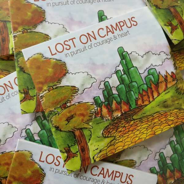 Lost On Campus - In Pursuit Of Courage & Heart EP CD - Rob Lynch