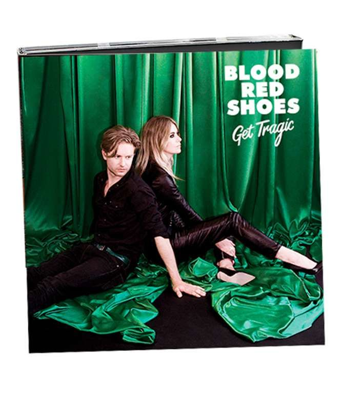 GET TRAGIC - CD (Signed) - ROM Blood Red Shoes