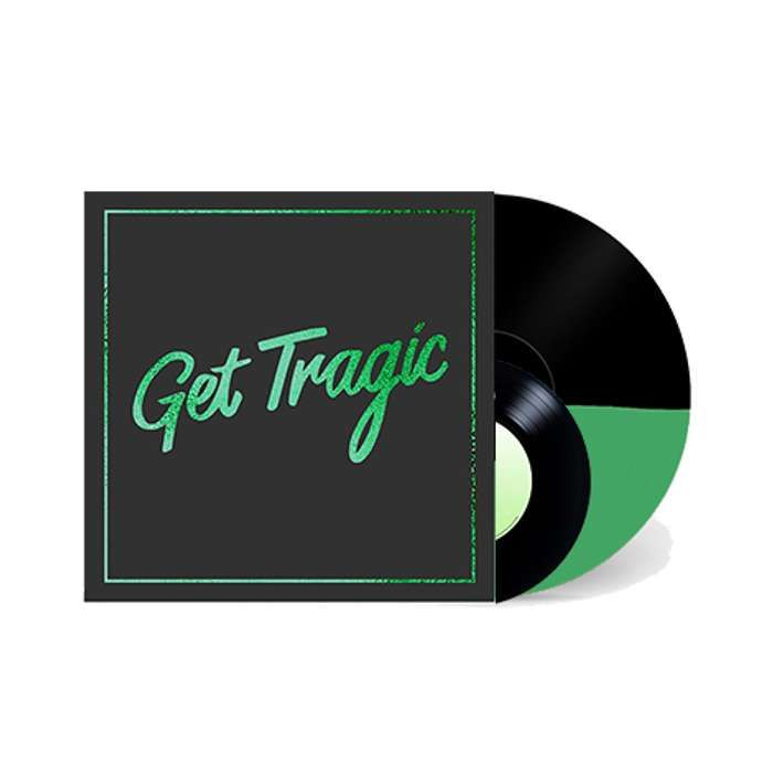 GET TRAGIC - DELUXE LP (Signed) - ROM Blood Red Shoes