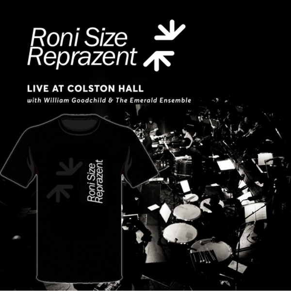 Live at Colston Hall + T-shirt bundle - Roni Size