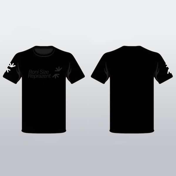 Roni Size Reprazent T-Shirt (Grey Logo) - Roni Size