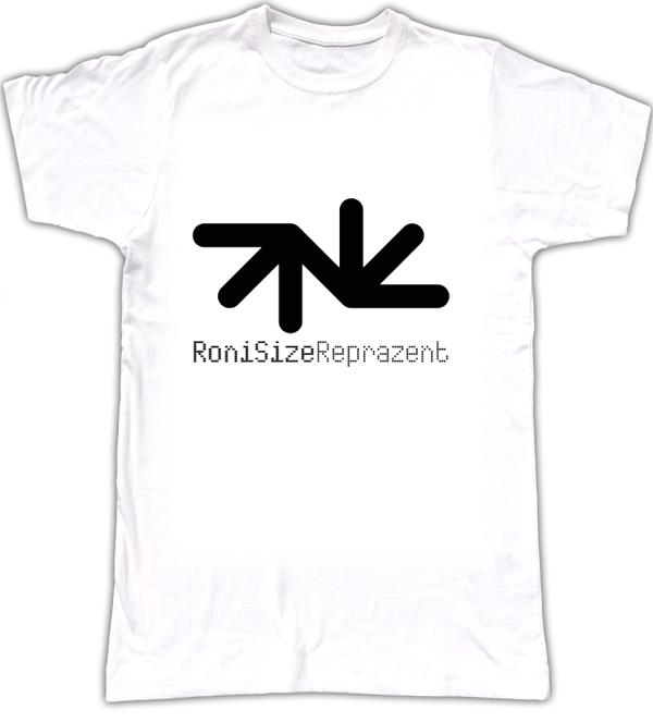 T-Shirt: RoniSize Reprazent Logo - Roni Size