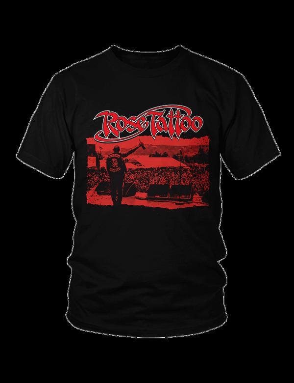 Rose Tattoo - 2018 Tour Shirt - Blood Brothers - Rose Tattoo Merchandise