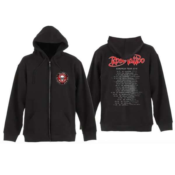 Rose Tattoo - 2019 Tour Hoodie - Rose Tattoo Merchandise