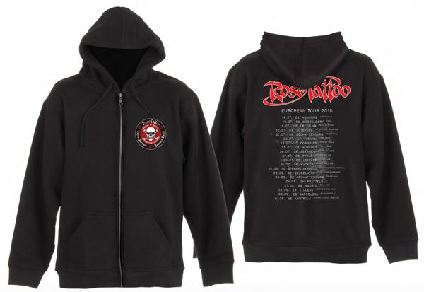 Rose Tattoo - 2019 Tour Hoodie - Rose Tattoo Merchandise