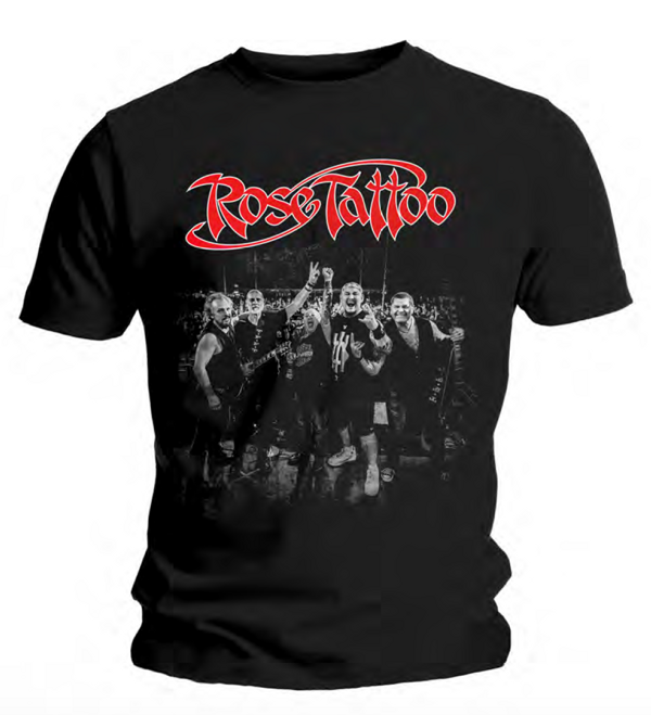 Rose Tattoo - 2019 Tour T Shirt - Rose Tattoo Merchandise