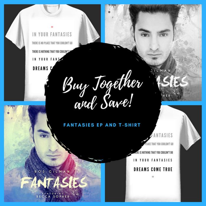 Fantasies EP + T-Shirt - Ros Gilman