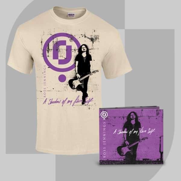 Ross Jennings - 'A Shadow Of My Future Self ' CD + Signed Print + T-Shirt Bundle - Ross Jennings US