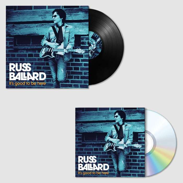 "It's Good To Be Here (Signed CD & Signed 12"" Vinyl) - Russ Ballard"