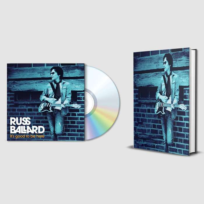 It's Good To Be Here (Signed CD & Signed Hardback Book) - Russ Ballard