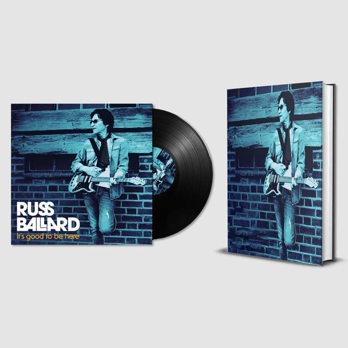 It's Good To Be Here (Signed LP & Signed Hardback Book) - Russ Ballard