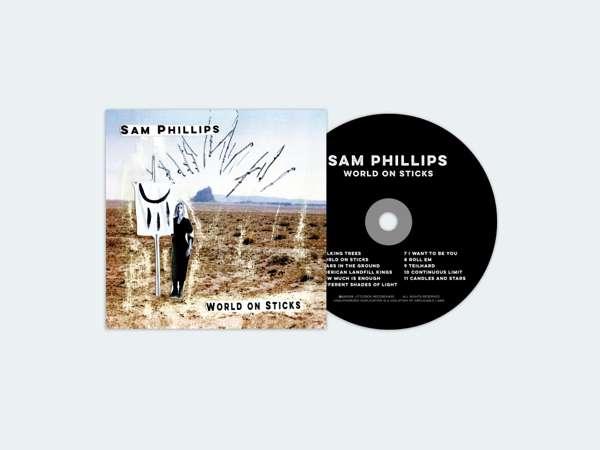 SAM PHILLIPS - 'WORLD ON STICKS' --------- CD - Sam Phillips