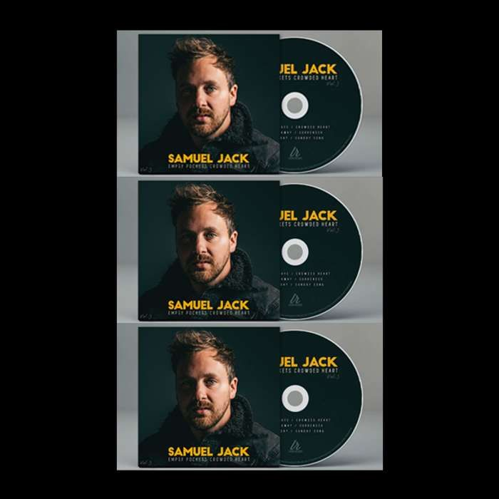 Empty Pockets Crowded Heart ** ALL VOLUMES 3xCD BUNDLE - Samuel Jack