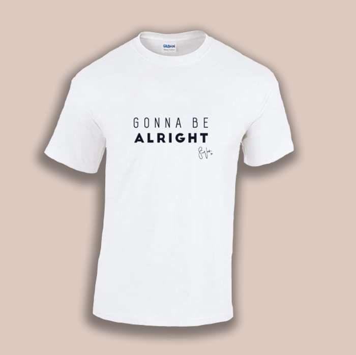 'Gonna Be Alright' -T-Shirt [WHITE] - Samuel Jack