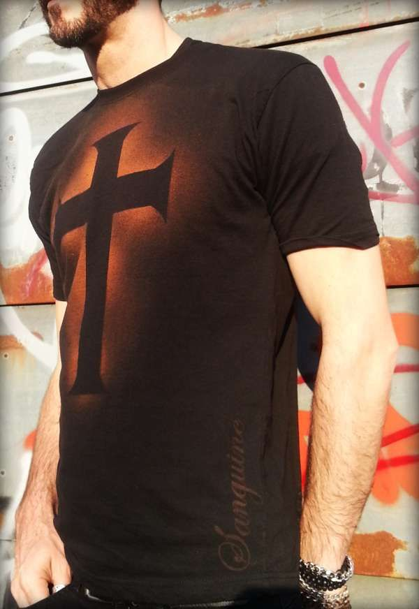 CROSS T-shirt - Sanguine