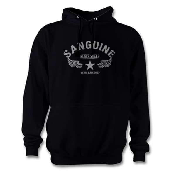 SANGUINE - Official Black Sheep Hoodie - Sanguine