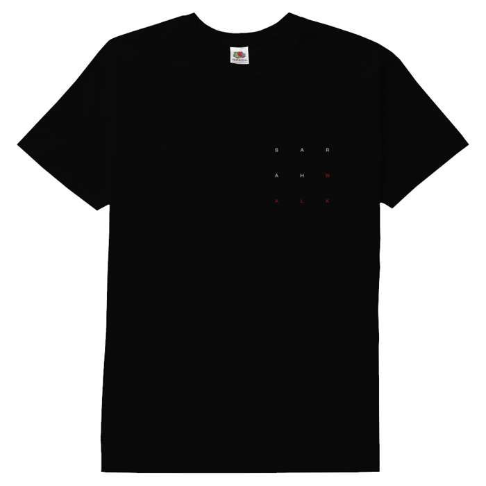 Little Black Book Black Tshirt - Sarah Walk US